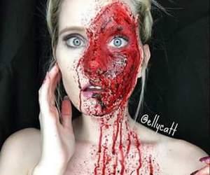 dia de muertos, makeup, and alaskaa image
