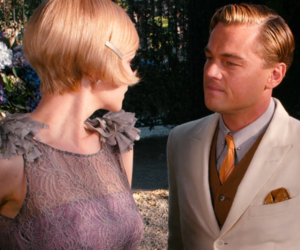 Carey Mulligan, leonardo dicaprio, and the great gatsby image