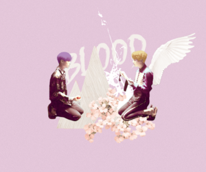 pastel, wings, and bts image