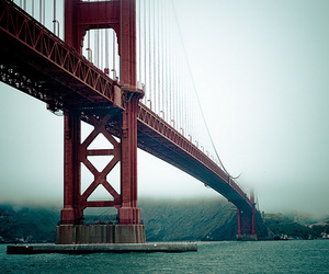bridge, photography, and red image