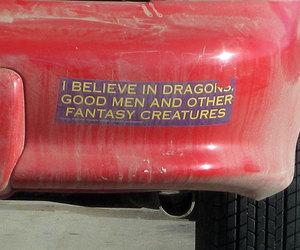fantasy, car, and dragons image
