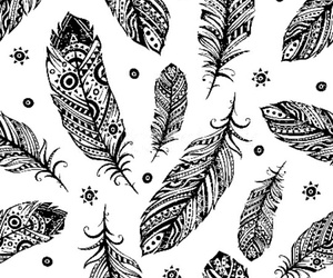black and white, patterns, and wallpapers image