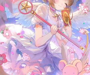 anime, sakura, and kawaii image