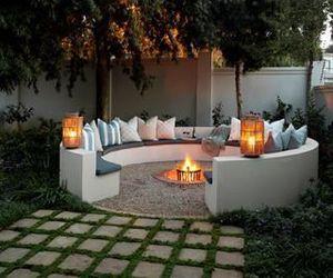 home, backyard, and decor image