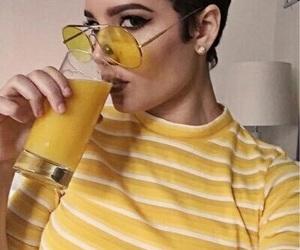 halsey, yellow, and aesthetic image