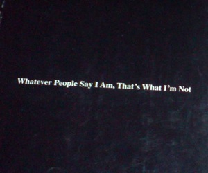 quote, arctic monkeys, and people image