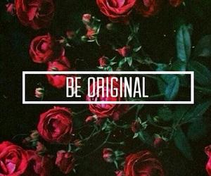 original, rose, and flowers image