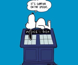 Dalek, dr who, and snoopy image
