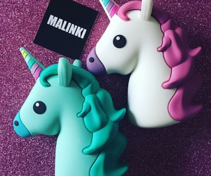 uni, unicorn, and powerbank image