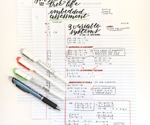 college, inspiration, and stationery image
