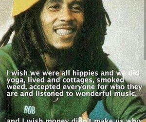 bob marley, quotes, and music image