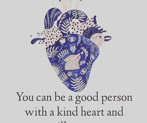 quote, girl, and heart image