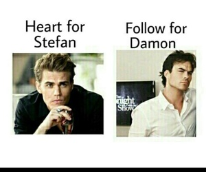 damon, stefan, and tvd image