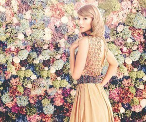 Taylor Swift, fashion, and flowers image