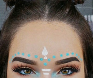 make up, party, and fête image