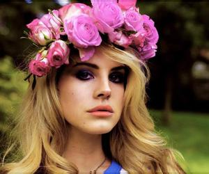 flowers and lana del ray image