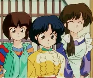anime, ranma, and sisters image