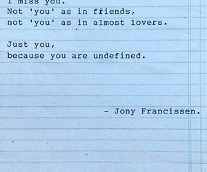 i miss you, lovers, and quotes image