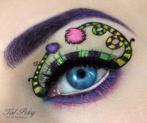 artist, eyes, and make up image