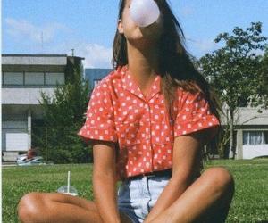 girl, vintage, and indie image