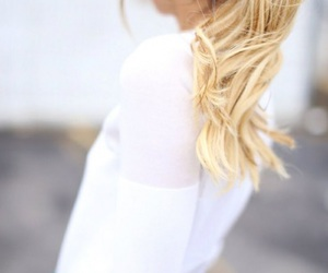 blond, girl, and blonde image