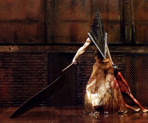 silent hill, pyramid head, and horror image