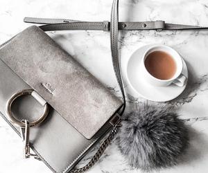 grey, coffee, and chloe image