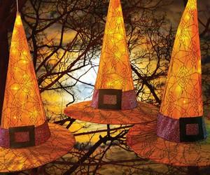 festive, Halloween, and hats image