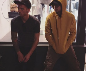 josh dun, tyler joseph, and twenty one pilots image