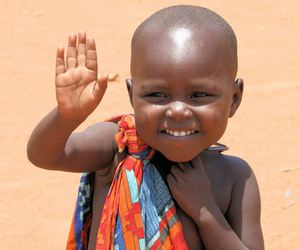 baby, African, and child image