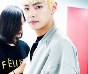 bts, v, and kpop image