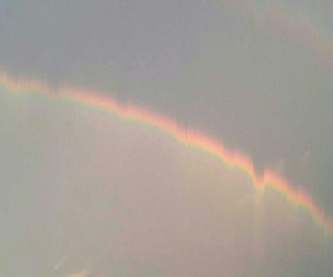 colors, rainbow, and sky image