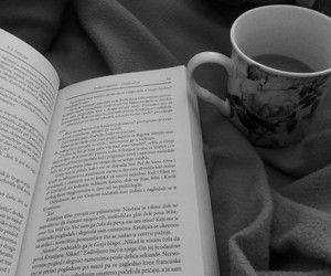 book, coffie, and morning image