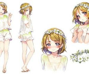 anime girl, kawaii, and love live image