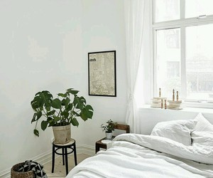bedding, white, and bedroom image