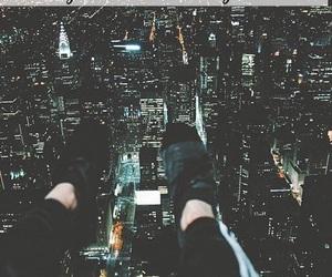 city, crying, and grunge image