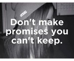 promise, quote, and boy image