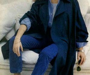 blue, clothing, and fashion image