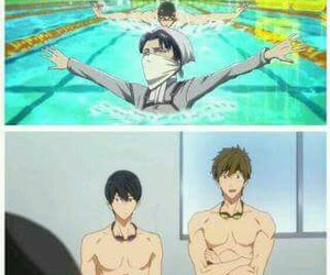 anime, levi, and free! image