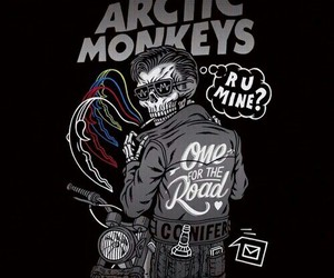 arctic monkeys and evelyn image