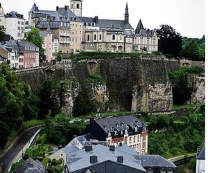 luxembourg, places, and travel image