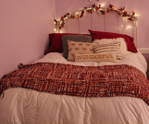 autumn, bedroom, and bed image