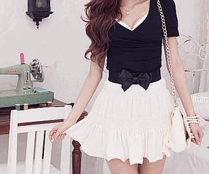 fashion, dress, and skirt image