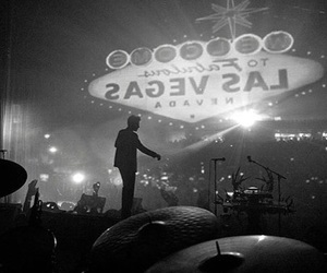 black and white, Las Vegas, and the killers image