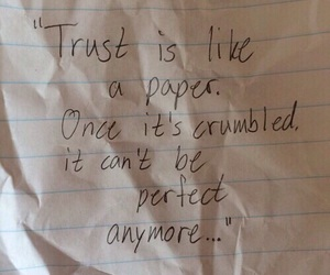 trust and Paper image