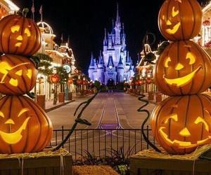 Halloween, disney, and pumpkin image