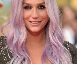 hair, kesha, and pastel image