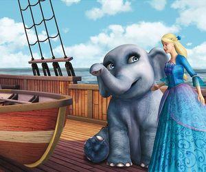 barbie, Island, and princess image