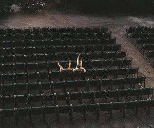 boy, couple, and alone image