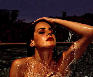 lana del rey, Queen, and pool image
